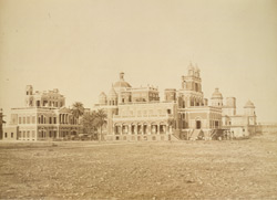 Chutter Munzil from the south, Lucknow.
